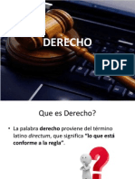 Derecho,Informatica y Globalizacion
