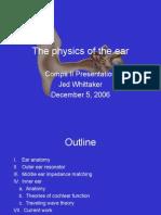 JedWhittaker on the Ear