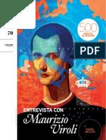 500 Años de El Principe - Entrevista a Maurizio Viroli