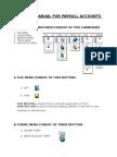 Training Manual for Payroll Accounts