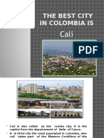 The Best City in Colombia Is