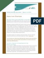 Share Grantee Newsletter Mar 2010