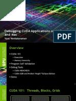 S3037 S3038 Debugging CUDA Apps Linux Mac