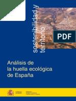 Huella Ecologica de Espana