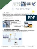 001_ Les Sciences de l'Installation_solaire_photovoltaique