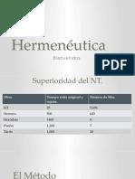 HERMENEUTICA Metodo Historico Gramatico Teologico