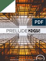 PRELUDE2015 Program Guide
