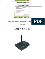 Manual Router Lanpro
