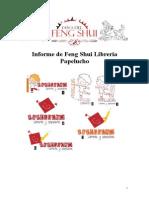Informe de Feng Shui Librería Papelucho