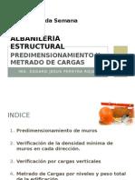 CLASE 2.Predimen y Metrado de Cargas.pptx
