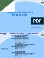 Interpretación Seccion 8 ISO 9001 - 2000 ISIVEN