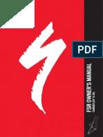 FSR 2012 Camber FSR Manual