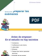 Como Preparar Examenes