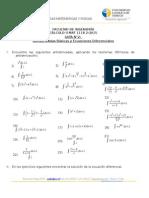 Guia Antiderivada, Ecuacion de La Recta Mat1118