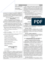 Decreto Legislativo Nº 1229