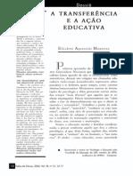 A Transferencia e a Ação Educativa