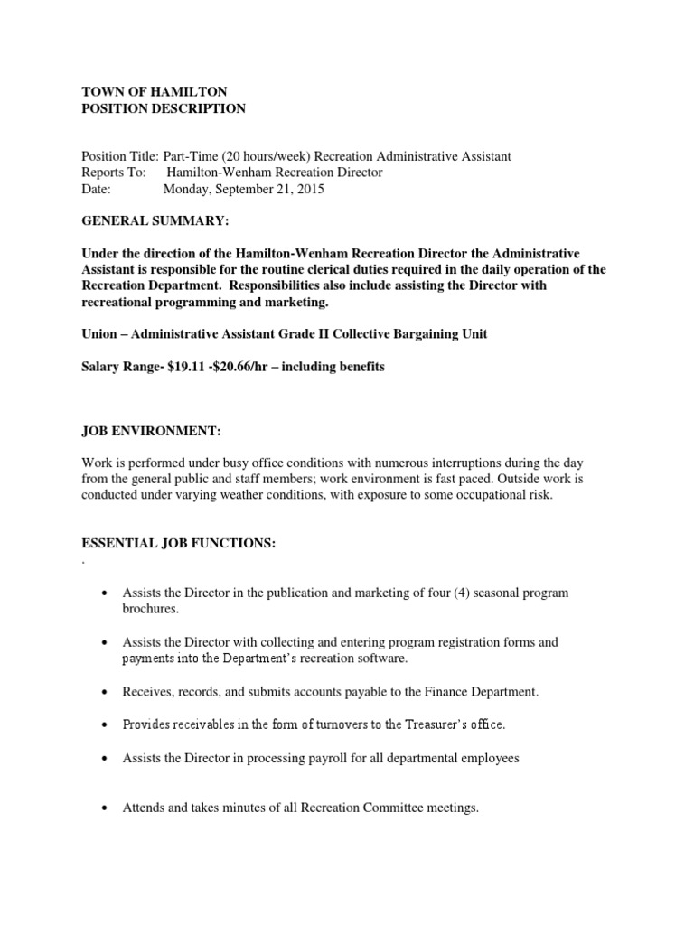 Cover letter example 1