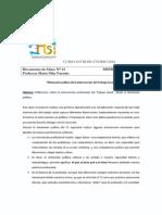 Clase 13 Maria Pilar Fuentes Dimension Politica de La Intervencion Del Trabajo Social 2014