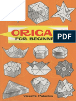 Origami for Beginners - Vicente Palacios