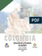 Geologia de La Plancha 185 Bagadó