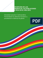 DEREHOC humanos LGBTI SONDEO DE PERCEPCION.