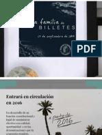 Nueva familia de billetes en Colombia