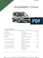 Tourneo Courier Titanium