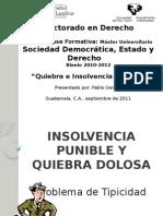 Problema de Tipicidad Del Delito de Quiebra.154221151