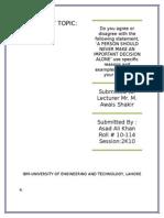 Asad Report