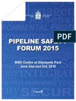 Pipeline Safety Forum 2015