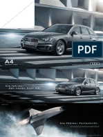 Audi A4 Sedan & Avant Catalogue (DE)