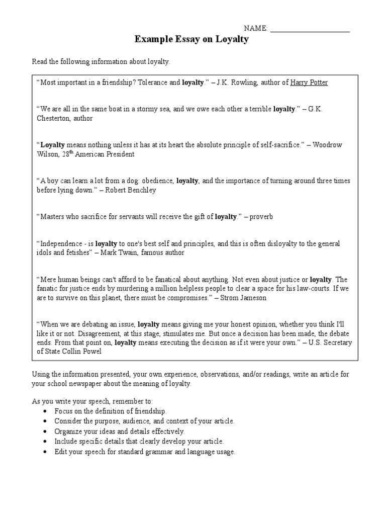 Person You Admire Essay  Tell Tale Heart Analysis Essay also Essay On My Life Loyalty Definition Essay  Hepatitze Example Of Argumentative Essays