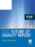 Future of Quality