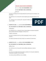 Cuaderno de Obra Centro de Salud Puerto Bermubez Noviembre-diciembre