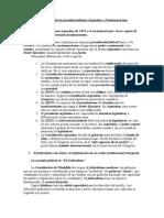 Los Orígenes de Los Presidencialismos Argentino y Norteamericano