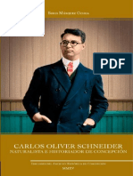 Carlos Oliver Schneider. Naturalista e Historiador de Concepción. (2015)