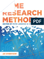 Game research methodshods Lankoski Bjork Etal Web