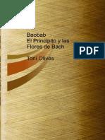 Baobab El Principito y Las Flores de Bach