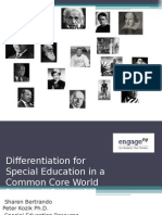 Nti July 2012 Differentiation for Special Education in Ccss Presentation