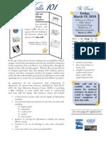 Data Showcase Flyer
