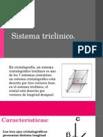 Sistema Triclinico