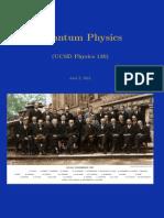 Physics 130 Notes