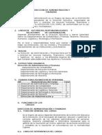 Mof Direccion de Administracion y Finanzas