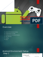 Android Game Development Using Unity
