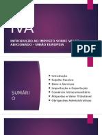 Curso de Introdução Ao IVA Europeu