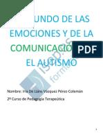 El Mundo de Las Emociones Y La Comunicacion en El Autismo