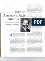 Charting America's Arts Agenda by Mike Greene April 1993