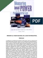 1 Midiendo El Poder Nacional en La Era Postindustrial