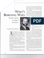 Who's Burning Who Retailers Exploit the Digital Revolution by Mike Greene Aug 1993