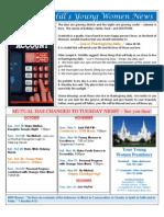 YW Newsletter Sample 2